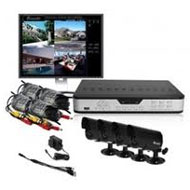 Zmodo Surveillance 4- Channel CCTV Security DVR LED Camera System 500GB Kit