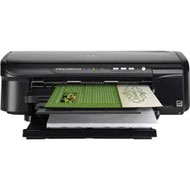 HP Officejet E809A Inkjet Printer - Color - Plain Paper Print - Desktop