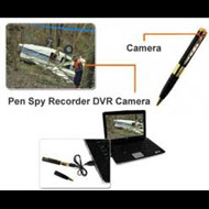 Zmodo Surveillance CM-C10208BK-AD Spy Pen Camera 1/4inch CMOS 2GB USB DVR Audio
