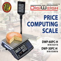 Digiweigh DWP-60PC Price Computing Scale 60x0.01 lb