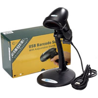 Esky USB Automatic Barcode Scanner Scanning Barcode Bar-code Reader with Hands Free Adjustable Stand