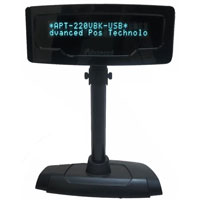 <span style='font-size: 1.1em; color: #4B9000'>POS-X CORE Pole Display XP8200U</span>.<br /><br /> Sleek and space-efficient, the Xp8000U pole display delivers quality and flexibility with a small foot print base.
