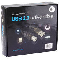 USB 2.0 High Speed Printer / Scanner Active Cable