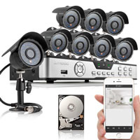 <span style='font-size: 1.1em; color: #4B9000'>Zmodo 8 Channel CCTV</span>.<br /><br /> This 8 channel 960H security system has been equipped with completely new features. Innovative QR-Code scan connectivity allows you to quickly and easily connect to your smartphone, tablet, or PC.