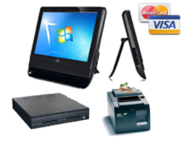 Point of sale hardwares selection: all-in-one ASUS touchscreen